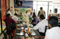 The GEAP socializes their projects in different Mexican institutions