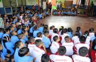 Alrededor de 4.372 alumnos en El Salvador reconocen la Madre Tierra como un ser vivo