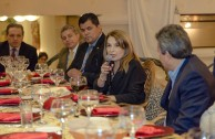 Welcome dinner of CSR CUMIPAZ Paraguay