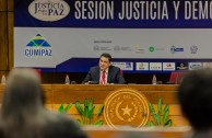 President of the Central American Court of Justice, César Salazar from El Salvador