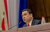 President of the Central American Court of Justice, César Salazar from El Salvador