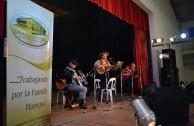 Fiesta folclórica argentina por la paz