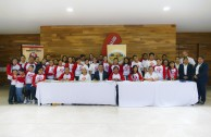 Student leaders ratify their commitment to the human family