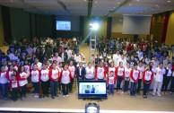 Líderes estudiantiles ratifican su compromiso con la familia humana