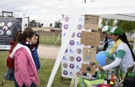 The GEAP participates in sports and environmental activities for peace