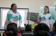 Estudiantes participan en jornadas de concientización en favor de la Madre Tierra