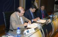 La EMAP y la Universidad de Ciencias de la Seguridad firman convenio de colaboración