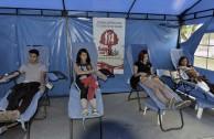 Bogotá: jornada de donación de sangre suma voluntarios