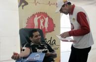 Bogota: blood drive marathon increases volunteers