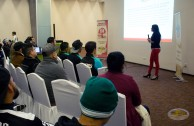 Athletes participate in lecture on a culture of voluntary blood donation