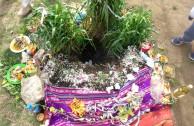 Agrupación Encuentro Indígena celebra el Día de la Pachamama con ritual ancestral