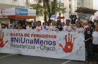 La EMAP asiste a marcha contra la violencia de género en provincias de Argentina