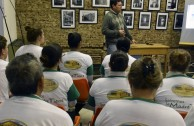 Voluntarios de la EMAP participan en charlas por la preservación del medio ambiente