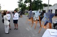 Exhibición de placas de sobrevivientes del Holocausto exaltan la dignidad humana