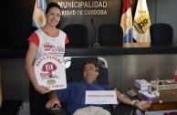 Ciudadanos argentinos participan en la primera jornada de donación de sangre voluntaria
