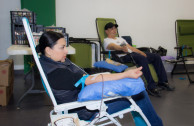 The 2017 blood drive transfusions began in Mexico