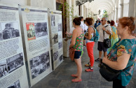 La EMAP exhibe placas de sobrevivientes en exposiciones sobre el Holocausto