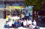 Escolares realizan acciones por la restauración de la Madre Tierra