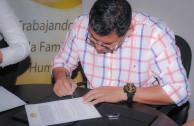 Presidencia Municipal en Reforma y la EMAP firman convenio de colaboración