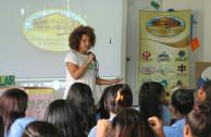 Escuela y comunidad participan en ferias ambientales