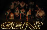 Los Activistas por la Paz y personas de todas las edades se unieron a este evento por medio de los hashtags: #LaHoradelPlaneta #CambioClimatico #EMAP #GEAP #JuntosesPosible