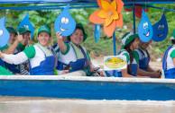 La Alcaldía Municipal de Girardot, Colombia, invitó a la EMAP al primer reinado del agua por el río Magdalena
