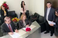 Firma de alianza: construcción de la cátedra para la paz