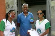 Activistas venezolanos celebran el dia mundial del agua