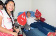 donante de sangre habitual