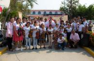 activistas voluntarios dia donancion de sangre