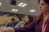 Delegación de la Embajada Mundial de Activistas por la Paz