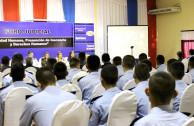 Agentes policiales presentes