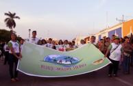 Hijos de la Madre Tierra en desfile por el planeta