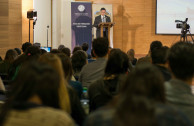 "The GEAP attends the university forum ""For a better social conscience"""