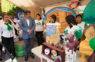 GEAP volunteers set up environmental fair in Veracruz