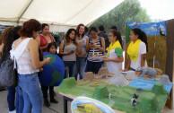 Guardianes por la Paz de la Madre Tierra acuden a concientizar a Universidad sustentable en Escobedo, Nuevo León.
