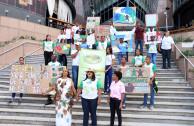desfile y paradas ambientales