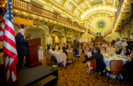 Dinner in San Antonio, Texas - Presentation of CUMIPAZ 2017