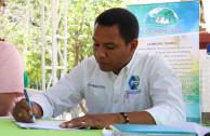 Álvaro Echeverría Ángel, sub-director de la Corporación Autónoma Regional del Sur de Bolívar (CSB) de Magangué, Bolívar