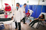 Solidary work that guarantees blood supply