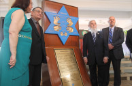 """Minister of Foreign Affairs of Panama receives the campaign """"Traces to Remember"""""""