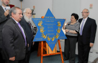 Holocaust Commemoration and the Unveiling of Holocaust Survivor Eugenia Unger's Plaque