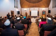 La Sinagoga del Cetro Israelita de Bogotá fue el escenario del acto en memoria de las víctimas del Holocausto.