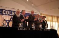 Diferentes líderes acompañaron el traslado en su 6ta estación.