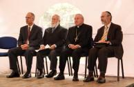 Yoed Magen, Dr. William Soto, Mons. Aldo Cavalli y Rabino Alfredo Goldschmidt