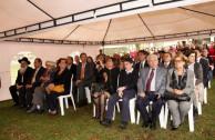 Público asistente al evento en la Embajada de Polonia.