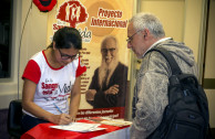 Argentineans committed to safe lives recollect 1303 safe units of blood.