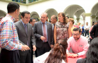 The municipal palace of Xalapa opens its doors to the Integral Program of Blood Donation: Life is in the Blood.