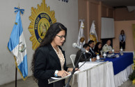 875 students from the PNC academy attend the 2nd Judicial Forum in Guatemala