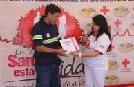 reconocimiento a donante
